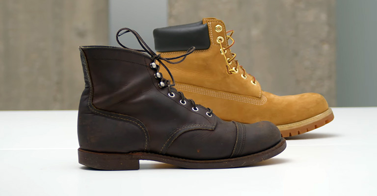 Red Wing vs Timberland Work Boots Fi
