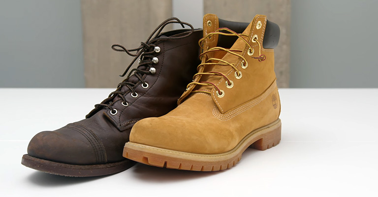 What is the difference between Red Wing vs Timberland work boots 2
