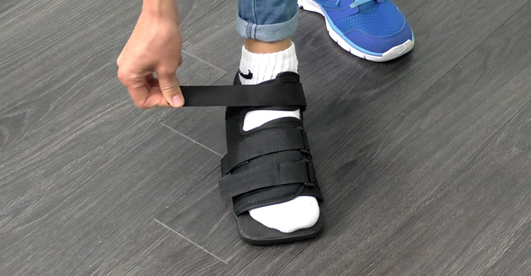 What Does a Post Op Shoe Do FI