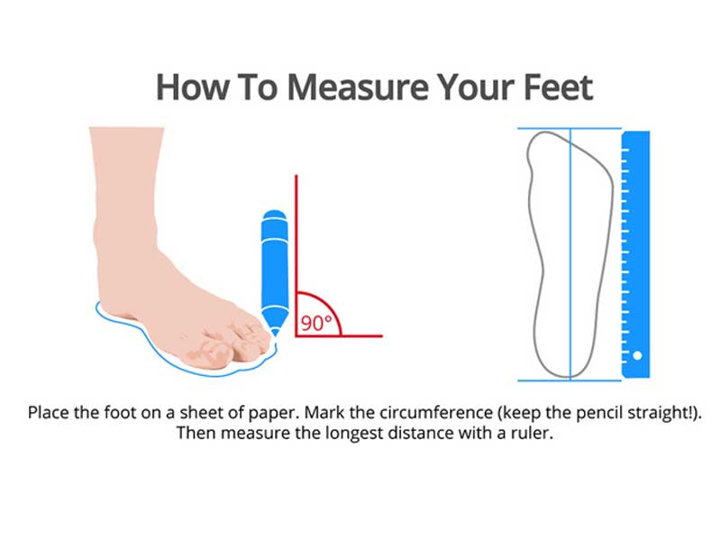 How To Tell If Shoes Are Too Big - Measure Your Footwear Size Step -1