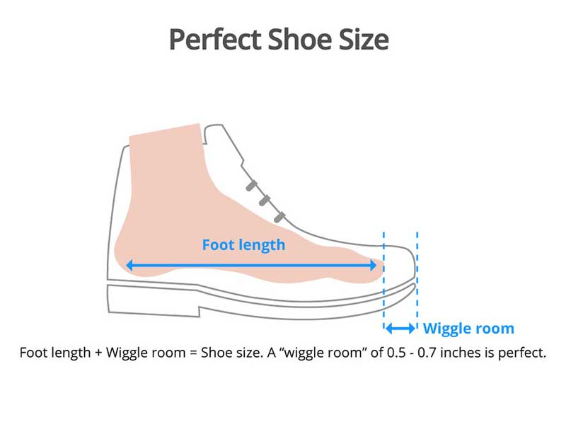 How To Tell If Shoes Are Too Big - Perfect Shoe Size Measurement