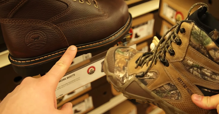 Comparison Between Red Wing and Irish Setter