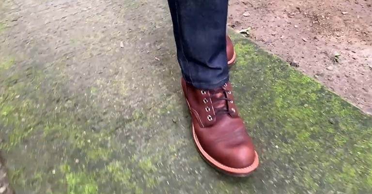 How Do You Break in Red Wing Iron Ranger Boots FI